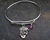 Phish Bracelet - Grateful Dead Mexican Bracelet - Phish Mexican Jewelry - Birthstone Bracelet -  - Under 25 -Phish Bracelet -