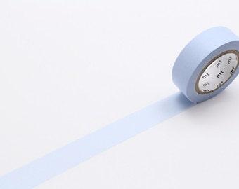 pastel blue - mt basic colour - washi tape