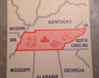 Tennessee State Teaching Card