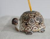Turtle Tortoise Ceramic Hanging Ornament Potpourri Scent Diffuser Made in Japan