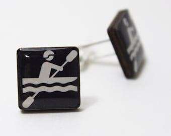 Kayaking Cufflinks