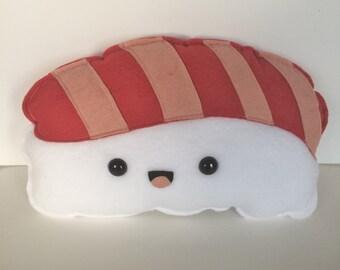 Salmon Nigiri Sushi Felt & Fleece Plush - fish - Kawaii - Softie