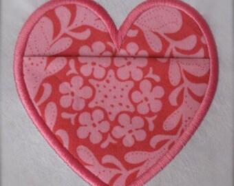 Heart Applique Pocket