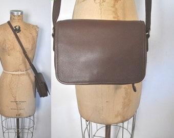 Eddie Bauer Leather Satchel Purse Bag