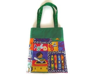 School Gift Bag - Goodie Bag - Mini Tote