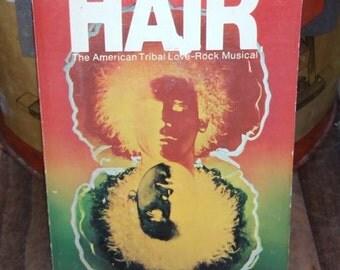 Hair Vintage Paperback Book