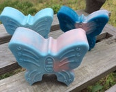 Cotton Candy Butterfly Soap