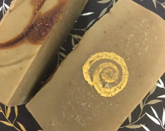 Dragons Blood Soap with Vetiver Palo Santo Frankincense Myrrh