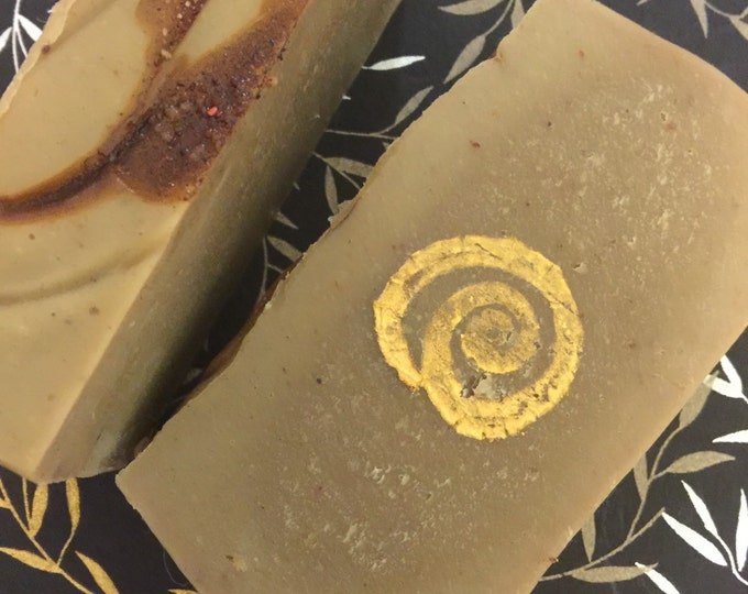 Dragons Blood Soap with Vetiver Palo Santo Frankincense Myrrh