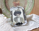 Victorian Lady Friendship Card - Special Friend Card - Vintage Lady Card