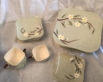 Weil Ware California Pottery Malay Blossom
