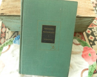 Eminent Victorians By Lytton Strachey Modern Library edition 1918