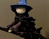 Night is for Flying - Witch Poppet