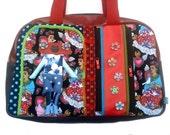 """Bag molly creative bag unique bag n5 """"El corazon de Frida"""", Frida Khalo"""
