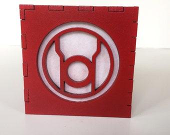 "Red Lantern light box - 3"""