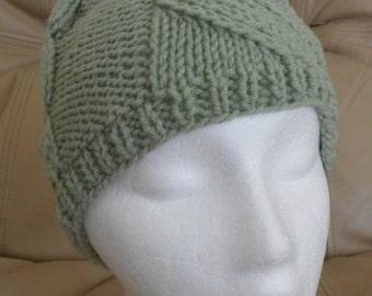 Lace Panel Hat