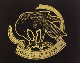 Harvester of Sorrow crow patch