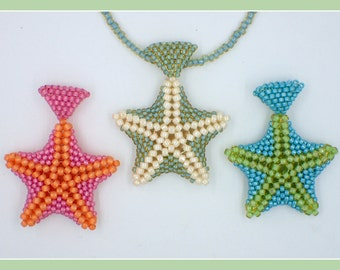 Starfish Pendant PDF Jewelry Making Tutorial (INSTANT DOWNLOAD)