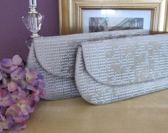 Bridesmaid clutch, Evening purse, Wedding clutch