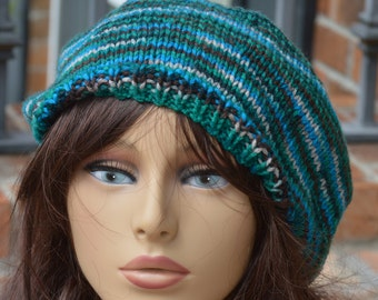 By the Lake Knit Beret
