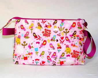 SPECIAL PRICE - Petite Fleurs Busy Birds Tall Mia Bag - Organic