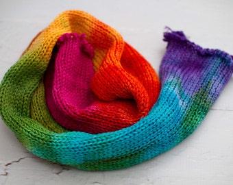 sock blank sock yarn with nylon, hand dyed