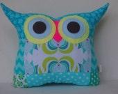 New Year sale/Aqua/orange/velori wells/ decoration /owl pillow/Ready to ship(large size)