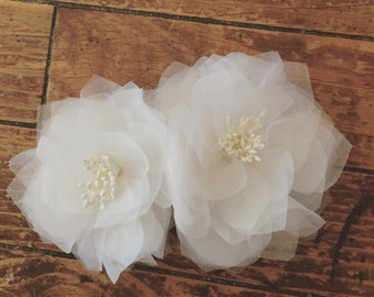 Double Silk Stamen Peony Hairpiece