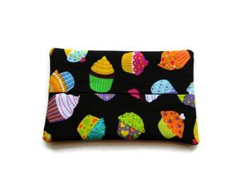 Fabric Cupcake Tissue Holder - Cupcakes