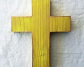 ORIGINAL CROSS, Decorative Cross, Wall Cross, Solid Wood Cross, OOAK Cross, Handmade Cross, Christian Wall Art, Christian Gift