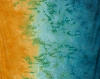 Gradient  Hand Dyed Fabric - Barrier Island
