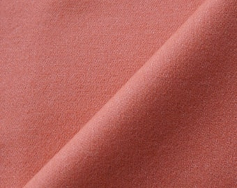 Melon Hand Felted Wool Fabric Select a Size - Rug Hooking - Quilting - Wool Applique - by Quilting Acres