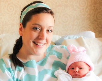 Matching Headband for your Maternity Hospital Gown