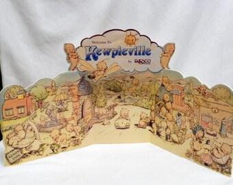 Enesco Kewpieville Dealer's Backdrop Display