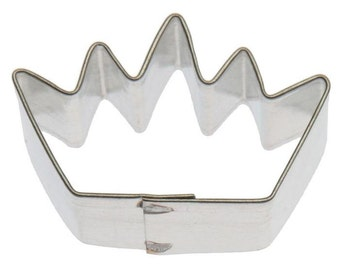 "MINI Crown 1.5"" Cookie Cutter, Where Wild things Are crown, Wild one, Princess Wizard of Oz Glinda  Mardi Gras"