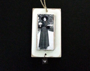 Halloween Ornament Witch Vintage Image Photo