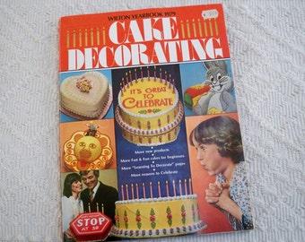 Vintage Book Wilton Yearbook 1979 Cake Decorating Paperback Celebrate