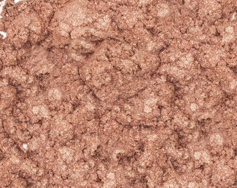 Silk Stockings Shimmer Mica 1 Oz or 4 Oz, Cafe Latte Sparkle Mica, Pearl Mica , Cosmetic Supply, Makeup Supply