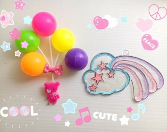 Charm toys fairy kei kawaii lolita stile