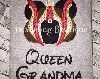 Queen Amidala Star Wars Minnie Mouse shirt