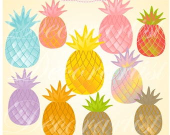 pineapple with sunglasses clipart. pineapple clipart, pineapples rainbow digital clipart, hot summer fruit clip pineapple with sunglasses clipart