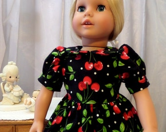 18 Inch Doll Clothes / Doll Dress / Dress / Doll Clothes /  Doll Clothing / Doll Accessories / Fits American Girl Doll - 1062