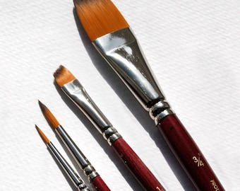 Paint brushes, craft supplies, art supplies, watercolor brushes, fine art, scrapbooking, crafting supplies, Acrylic brushes, brush set