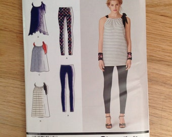 Simplicity 1372 Leggings, Top or Dress • 6-14