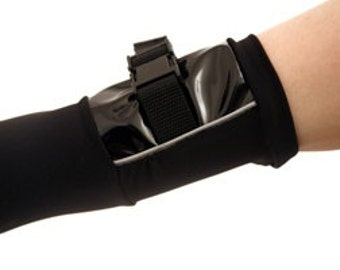 goth industrial sleeves - cyber military - goth clubwear UBER SLEEVES by FUTURSTATE