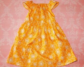 ON SALE! Sun-kissed Summer orange nelle dress, size 12mos.-8 girls