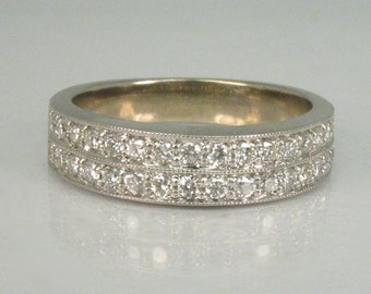 Vintage Diamond Wedding Ring - 32 Diamonds!!