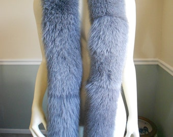 Reseerved for Janee Do Not Buy Fox Fur Scarf  / Large Collar / Boa Wrap / Stole Shawl