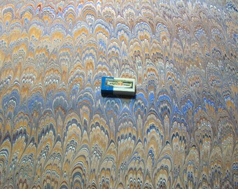 "handmarmorpapier, marbled paper, bookbinding  paper, 19.5"" x 27,3"" cm 50 x 70  .Bookbinding  supply,  papel marmolado. -  178"