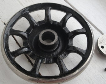Vintage Singer Sewing Machine Wheel